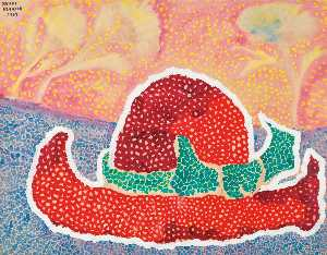 Yayoi Kusama - Hat Left Behind in the Field