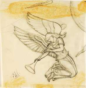 Paul Manship - Angel, Sketch for Nettuno Altarpiece, Anzio
