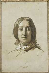 Thomas Couture - GEORGE SAND (1804 1876)