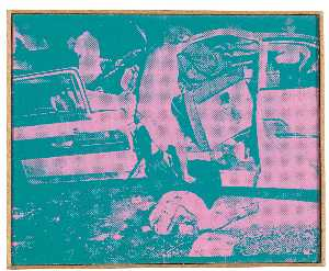 Richard Pettibone - Andy Warhol, Saturday Disaster , 1970