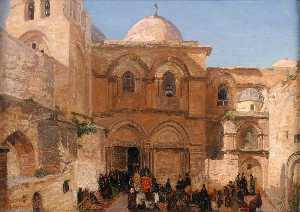 Georg Macco - The Holy Sepulchre of Jerusalem