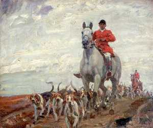 Alfred James Munnings - Going to the Meet