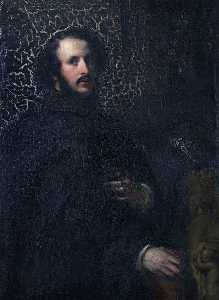 Robert Scott Lauder - Self Portrait in the Venetian Style
