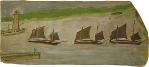Alfred Wallis - Three Ships