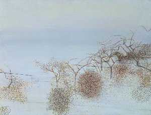 Victor Pasmore - The Gardens of Hammersmith No. 2