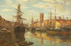Charles Parsons Knight - The Floating Harbour, Bristol