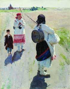 Sergei Arsenievich Vinogradov - Going to Work