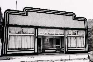 Larry W Schwarm - Building, Pratt County, from the Kansas Documentary Survey Project
