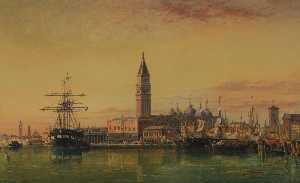 Edward William Cooke - venice