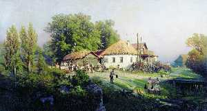 Petr Sukhodolsky - In the Village