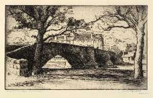 Bertha Evelyn Jaques - Musselburgh Bridge, Edinburgh