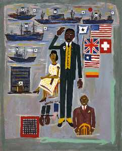 William Henry Johnson - Marcus Garvey