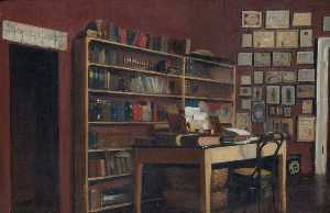 Albert Letchford - The Corner of Sir Richard Burton's Study