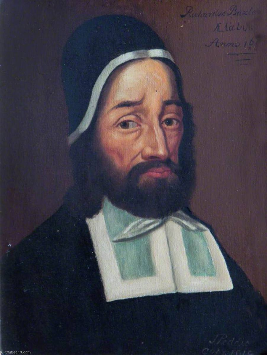 famous painting Richard Baxter (after Robert White) of John Peddie