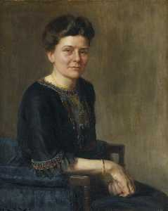 Hugh Goldwin Riviere - Mary Miller Allan, Principal of Homerton College (1903–1935)