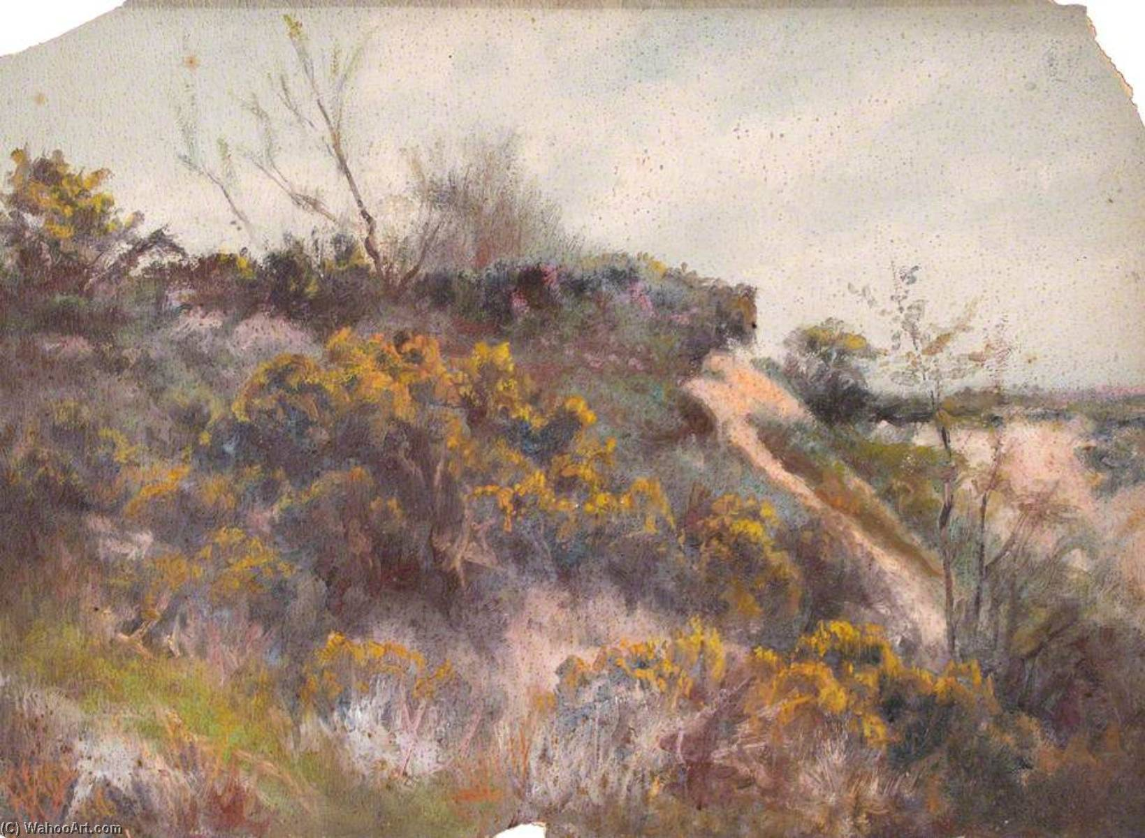 famous painting Nouns Heath, May 1896 of William Henry Hope