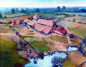 Peter Froste - Roman Villa at Great Holts, Boreham