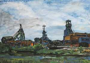 Max Ayres - Bickershaw Colliery
