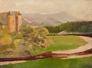 Robert Lillie - Neidpath Castle, Peebles