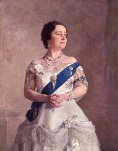 Gerald Festus Kelly - Queen Elizabeth, the Queen Mother