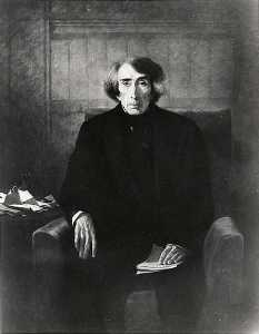 Emanuel Gottlieb Leutze - Roger B. Taney, Chief Justice (1777 1864), (painting)
