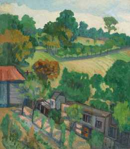 Stanislawa De Karlowska - At Woodnesborough, Kent