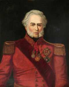 Charles Fullwood - Sir Edward Blakney, Colonel 7th Royal Fusiliers (1832–1855)