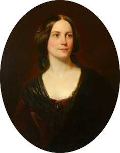 Daniel Maclise - Mary Postans, Mrs Alfred Shaw