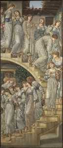 Edward Coley Burne-Jones - The Golden Stairs