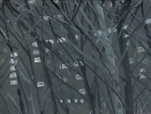 Alex Katz - City Night