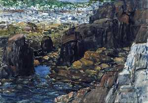 Frederick Childe Hassam - Appledore No. 2
