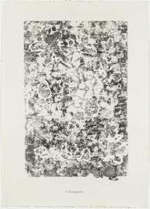 Jean Philippe Arthur Dubuffet - Conjugations (Conjugaisons) from the portfolio Scrap Plates II (Planches de rebut II) from Phenomena (Les Phénomènes)
