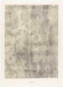 Jean Philippe Arthur Dubuffet - Sand (Sable) from the portfolio Waters, Stones, Sand (Eaux, Pierres, Sable) from Phenomena (Les Phénomènes)