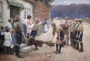George Hillyard Swinstead - The Good Turn