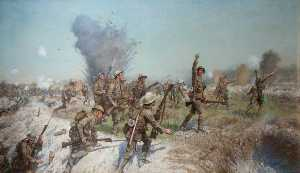 James Prinsep Beadle - Attack of the Ulster Division, 1 July 1916