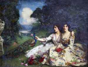 William Mouat Loudan - Alas That Spring Should Vanish with the Rose