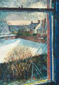 Joseph Mcwilliams - View from Studio Window