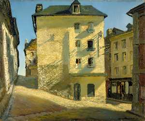 James Proudfoot - Sun on a House, Dieppe