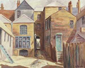 John Lomer Thirtle - Laundry Yard, Uxbridge