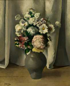 Joseph Calder Smith - Flower Piece