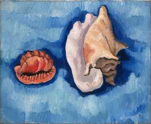 Marsden Hartley - Two Shells
