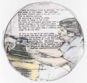 Larry Rivers - Untitled from Self Portrait in a Convex Mirror