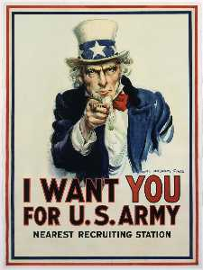 James Montgomery Flagg - I Want You for U.S. Army