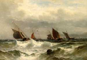 Theodor Alexander Weber - Dover Pilot and Fishing Boats