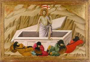 Ugolino Di Nerio - The Resurrection