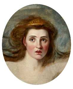 George Romney - Lady Emma Hamilton (1761 –1815) as Cassandra