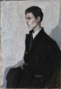 Romaine Brooks - Peter (A Young English Girl)