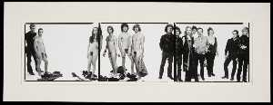 Richard Avedon - Andy Warhol and Members of the Factory, 30 October 1969