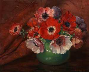 James Ness - A Bowl of Anemones