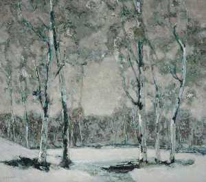 William Kiddier - Silver Snow
